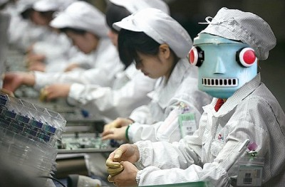 Foxconn Adding A Million Robots To Chinese Facilities