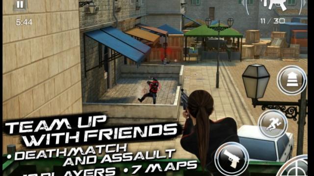 First Look: Gameloft's Silent Ops [Video]