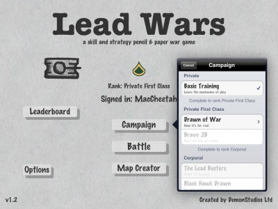 Lead Wars Updated With A Full Campaign, New Maps, And Overall Improvements