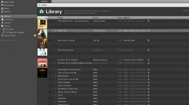 Spotify - Library