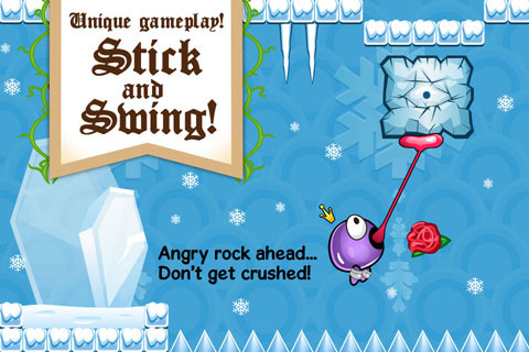Swing Your Way Through The Castle To Find Your Princess In Big Sticky