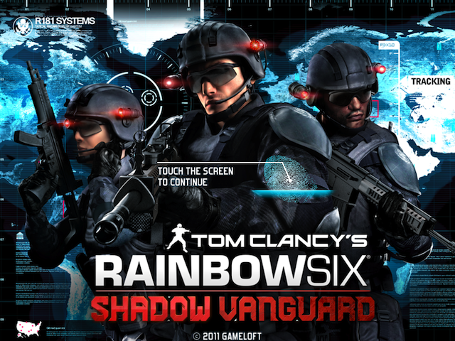Tom Clancy's Rainbow Six Comes To The iPad