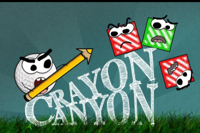 Crayon Canyon, A Physics-Based Game That Defies Physics