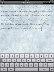 journal.APP by CostmoSoft screenshot