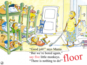 Five Little Monkeys With Nothing to Do by Oceanhouse Media screenshot