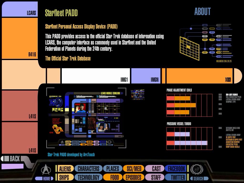 Star Trek PADD: The Entire Star Trek Universe On Your iPad