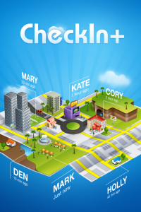 IM+ Creators Launch A New Multiplatform Check In Aggregator - With Augmented Reality
