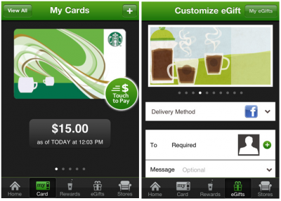 Starbucks Brews A New & Unified iPhone App