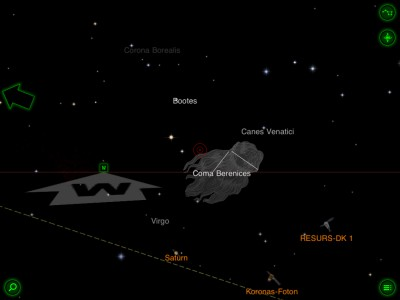 Both Gaze At The Stars And Track The Satellites In Star Walk v5.3 - Plus A Chance To Win Prizes