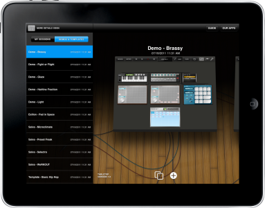 TableTop Audio Mixer Arrives For iPad