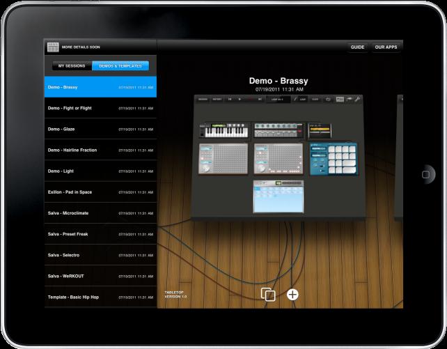 TableTop Audio Mixer Arrives For iPad