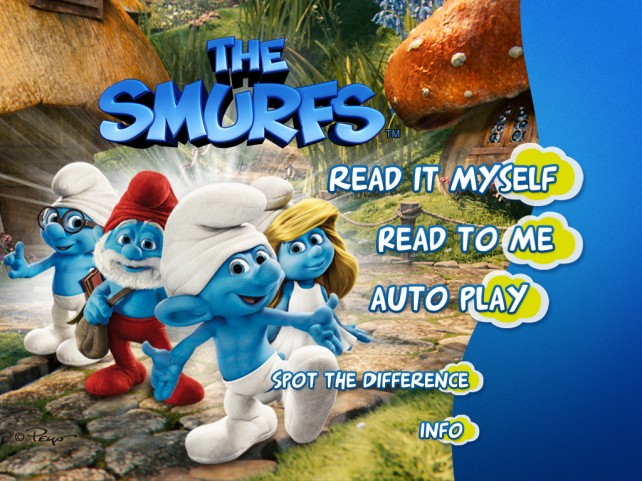 Join Papa Smurf, Smurfette And Crew On Their NY Adventure With The Latest From iStoryTime