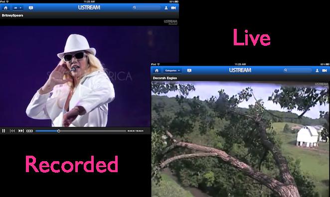 Ustream - Live & Recorded Videos