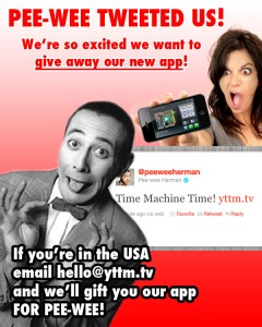 Thanks To Pee-Wee, You Can Get Video Time Machine For Free Today Just By Emailing The Devs