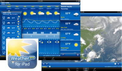 WeatherPro For iPad Celebrates Summer With New Beach Features & Social Networking Integration