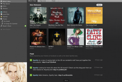 First Look: Spotify USA, 12 Hours In