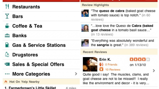 """Yelp Releases """"Creep And Crawly"""" App Update"""