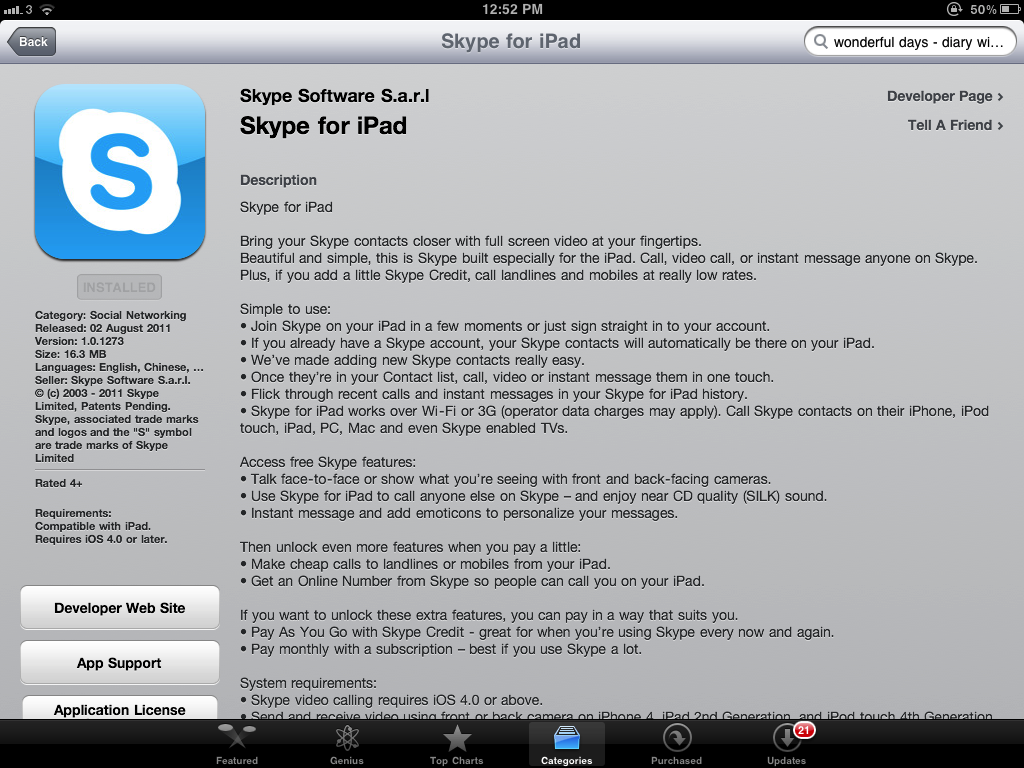 Skype For iPad Got Released Ahead Of Schedule - Now It's Gone