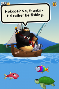 Ninja Fishing by Gamenauts screenshot