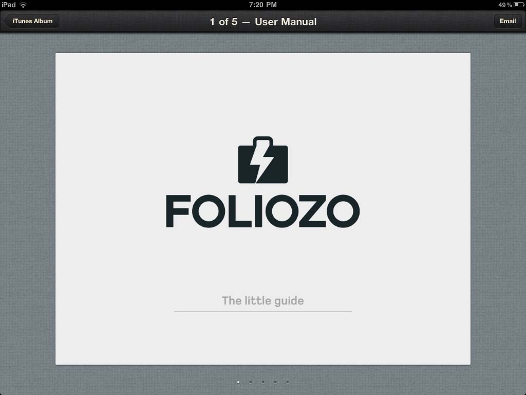 Foliozo Keeps Your Portfolio Nearby While On The Go