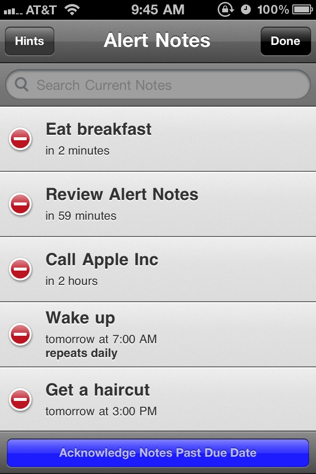 Turn Your Quick Notes Into Alerts With Alert Notes