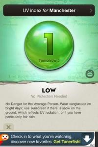 Ultraviolet - UV Index by Robocat screenshot