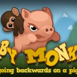 How Far Can You Go As A Baby Monkey Going Backwards On A Pig?