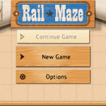 Rotate, Switch And Lay Down Tracks To Safely Guide The Train In Rail Maze
