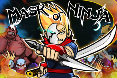 Slash And Charge Your Way Through Ninjas And Their Dogs In Mask Of Ninja