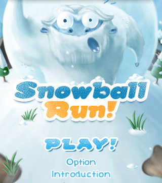 Outrun The Giant Snowball And Avoid Obstacles In Snowball Run
