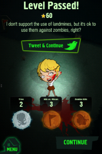 Zombie Minesweeper by Frogtoss Games, Inc. screenshot