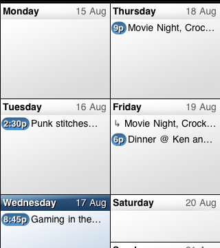 Just A Few Taps And You're On Your Way With Easy Calendar