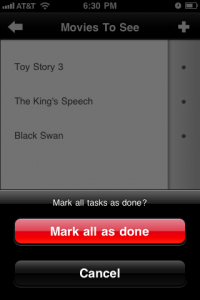 Yes! - Tasks by appart15 GmbH screenshot
