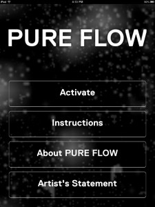 PURE FLOW Turns GPS Noise Into Art, Right In The Palm Of Your Hand