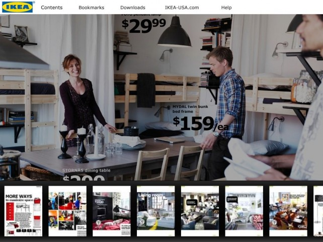 IKEA Catalog Is Now iPad Specific