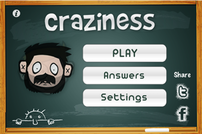 Quirky App Of The Day: Craziness