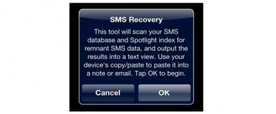 Jailbreak Only: Undelete SMS - Recover Deleted Messages, If You're Lucky