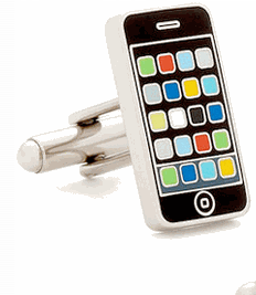 Geek Gift: iOS-Flavored Cufflinks