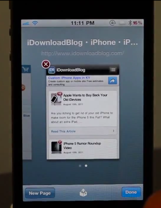 Jailbreak Only: RestoreTab For Safari - Restore Previously Open Tabs In Safari For iOS