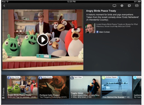 Boxee For iPad Offers Many Options For Video Sharing