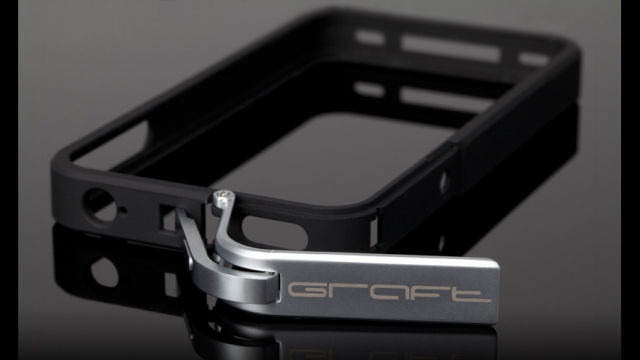 Graft Concepts Introduces Leverage, An Elegant Way To Protect Your iPhone