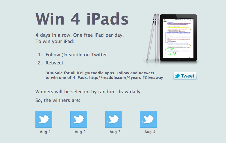 AppAdvice Daily: iCloud For TV Shows Now Here, Plus Readdle Is Giving Away iPads!