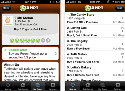 Carry Loyalty Cards On Your iPhone With Stampt