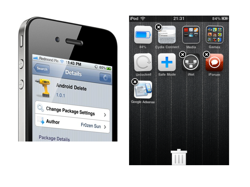 Tweak Adds Trash Can Icon To iOS
