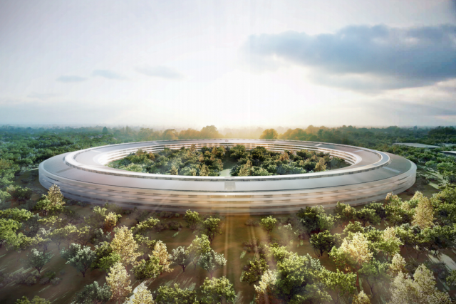 Apple's New Campus Might Be The Home Of The iPhone ... 9?