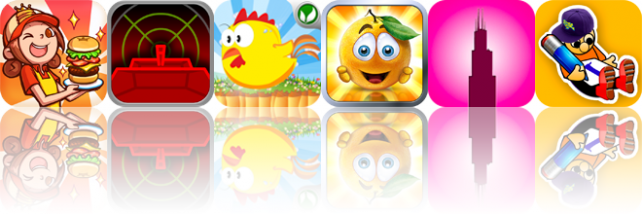 iOS Apps Gone Free: Burger Queen World, Vector Conflict: The Siege, Chickens Quest, And More