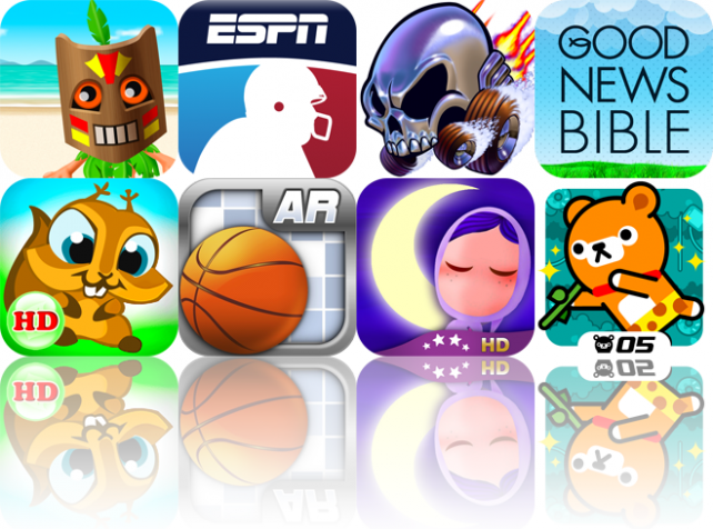 iOS Apps Gone Free: Go Native!, ESPN Fantasy Football 2011, Trucks And Skulls Nitro, And More