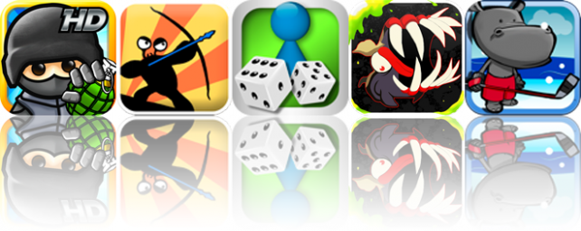 iOS Apps Gone Free: Fragger HD, Arno The Hunter, Ludo Classic, And More