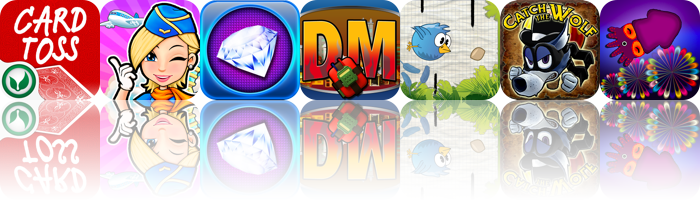 iOS Apps Gone Free: Card Toss, Airport Terminal, Aces Jewel Hunt, And More