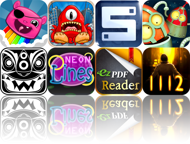 iOS Apps Gone Free: Battle Bears Blast, Destructopus, SideFlip, And More